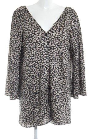 Glamorous Langarm-Bluse Blumenmuster Casual-Look
