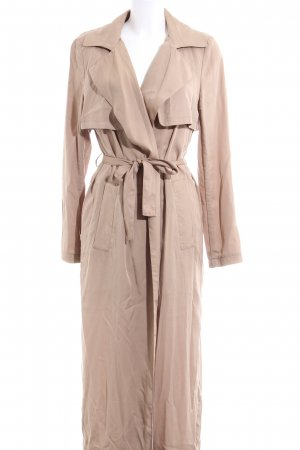 Glamorous Lange Jacke wollweiß Casual-Look