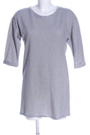 Glamorous Longshirt weiß-schwarz Allover-Druck Casual-Look
