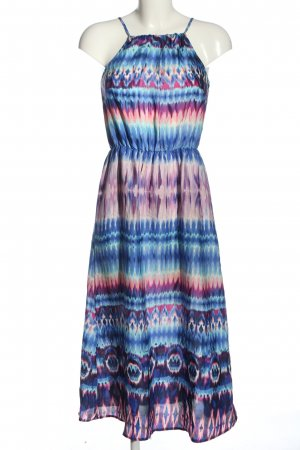 Glamorous Midi Dress abstract pattern casual look