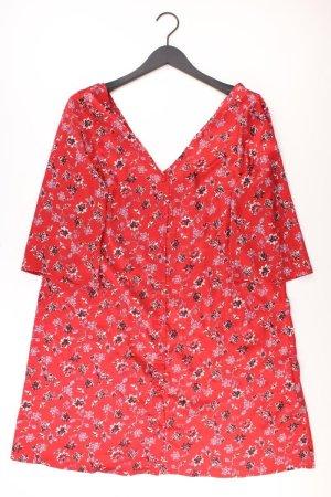 Glamorous Midikleid Größe 12 3/4 Ärmel rot aus Polyester