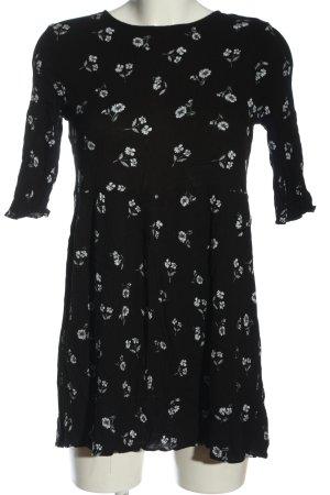 Glamorous Minikleid schwarz-weiß Blumenmuster Casual-Look