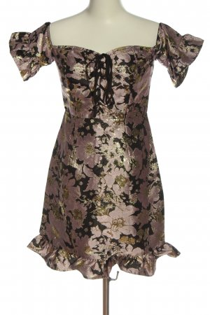 Glamorous Mini Dress allover print elegant