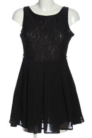 Glamorous Minikleid schwarz Webmuster Casual-Look