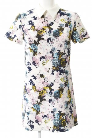 Glamorous Polo Dress flower pattern elegant