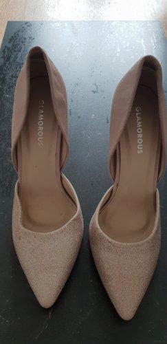 Glamorous Pumps boohoo high heels nude
