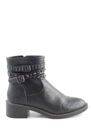 Glamorous Reißverschluss-Stiefeletten schwarz Casual-Look