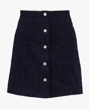 Glamorous Jupe taille haute bleu foncé-bleu