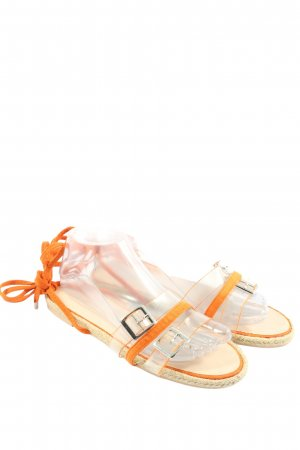 Glamorous Spartiate orange clair style décontracté