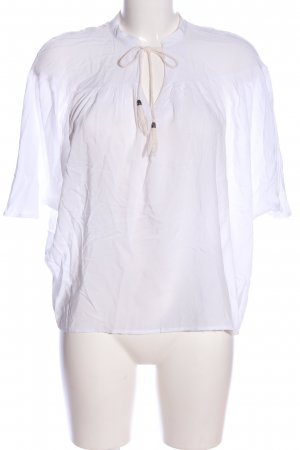 Glamorous Schlupf-Bluse weiß Casual-Look