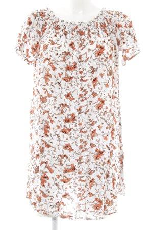 Glamorous schulterfreies Kleid Blumenmuster