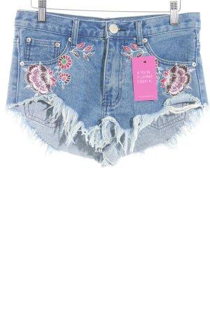 Glamorous Shorts Blumenmuster Casual-Look