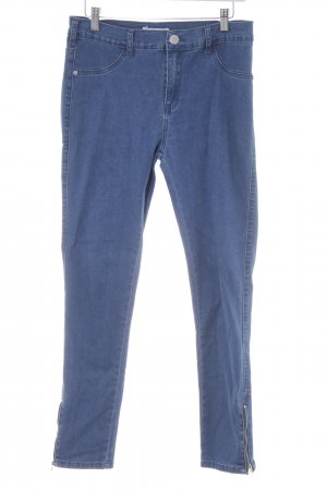 Glamorous Skinny Jeans stahlblau-blassblau Casual-Look