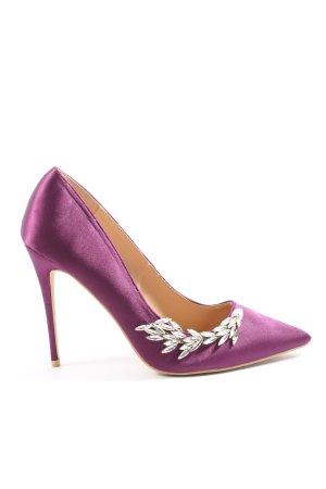 Glamorous Stiletto violet élégant