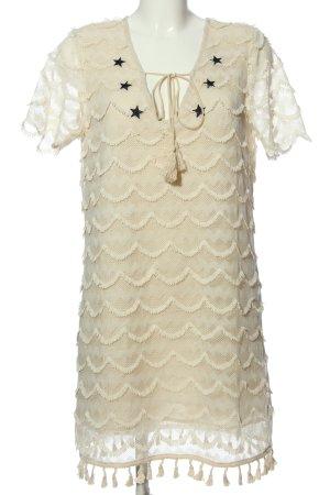 Glamorous Spitzenkleid creme Casual-Look