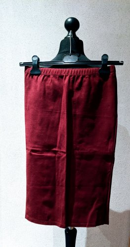 Glamorous Stretch rok bordeaux Viscose