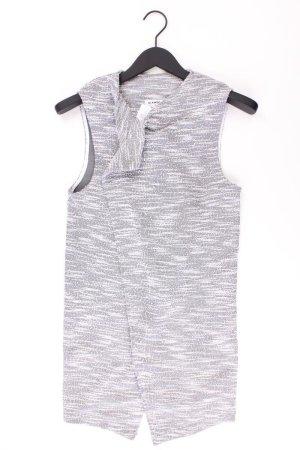 Glamorous Strickjacke Größe S Ärmellos grau aus Polyester