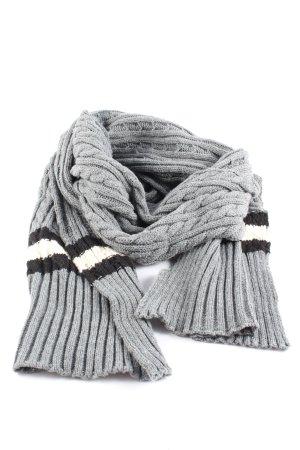 Glamorous Gebreide sjaal gestreept patroon casual uitstraling