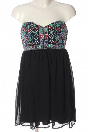 Glamorous Pinafore dress embroidered lettering casual look