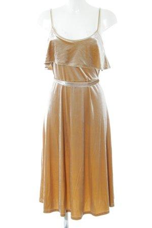 Glamorous Trägerkleid goldfarben Elegant