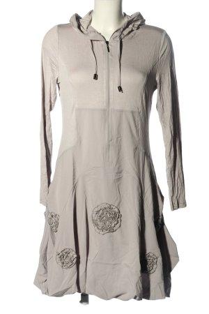 Glamz Sukienka dresowa jasnoszary W stylu casual