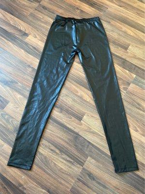 Glanz Leggings Größe M