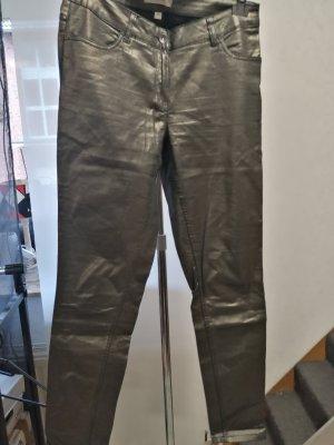 Blue Motion Pantalone a sigaretta argento-antracite
