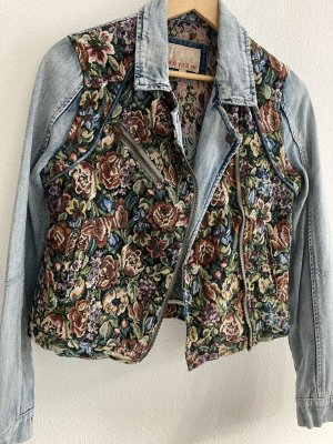 Glanzvolle JeansJacke, Vintage Style,'90