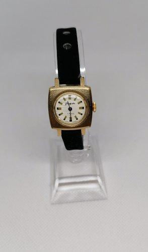 Glashütte Analoog horloge goud-donkerblauw