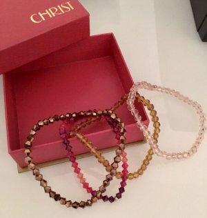 Glasperlen Armbänder von Christ