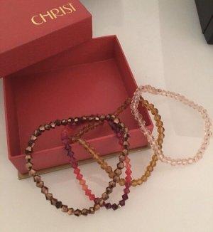 Christ Bracelet multicolored glas