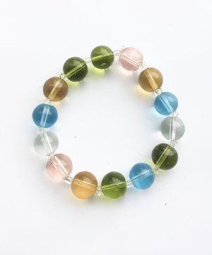 Glasperlen - Armband in sanften Farben