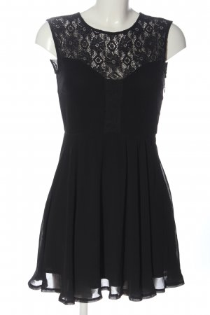 Glassons Cocktail Dress black weave pattern casual look