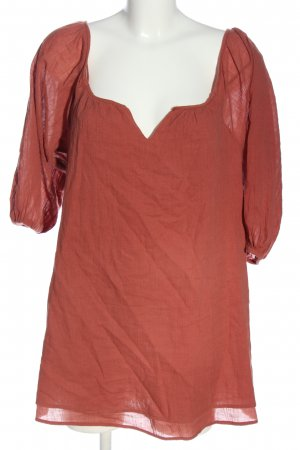Glassons Long Sleeve Blouse red casual look