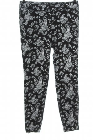 Glassons Jersey Pants black-white allover print casual look
