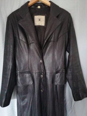 100 Leren jas zwart