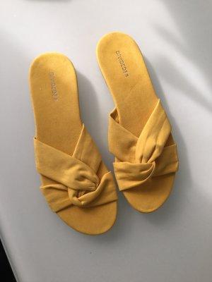 H&M Klompen geel