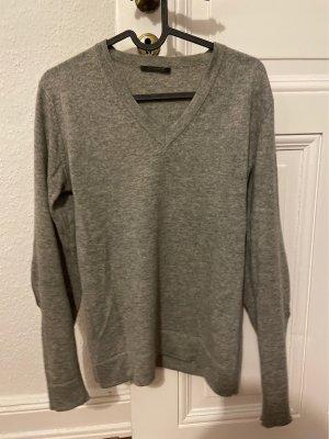 GLENFIELD Pullover in cashmere grigio scuro