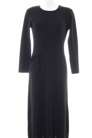 GLENFIELD Maxikleid schwarz Business-Look