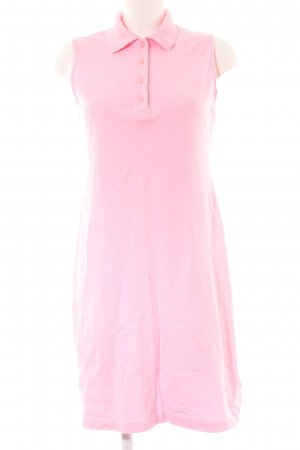 GLENFIELD Polo Dress pink casual look