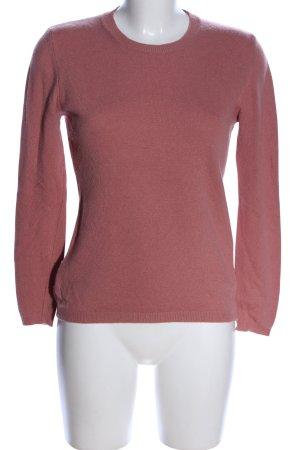 GLENFIELD Maglione girocollo rosa stile casual