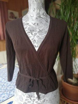 GLENFIELD Camisa cruzada marrón Algodón