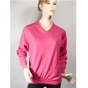 Glenmuir Wełniany sweter różowy Wełna