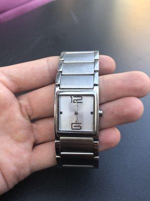 s.Oliver Horloge met metalen riempje zilver