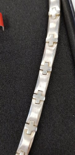 Esprit Link Chain silver-colored real silver