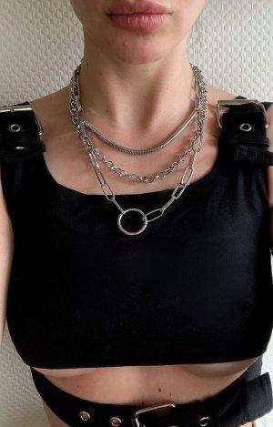 Asos Srebrny łańcuch srebrny