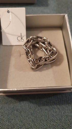 Calvin Klein Statement Ring silver-colored