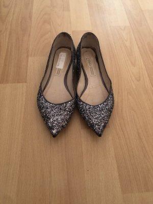 Glitter spitze Ballerinas