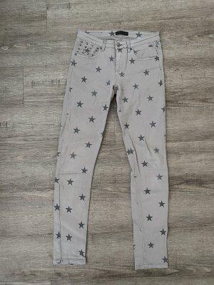 Glitz&Glam Jeans Skinny Röhre gekauft bei Classico Gr. 28 Sterne