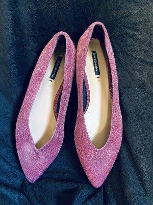 Glitzer Ballerina in Pink